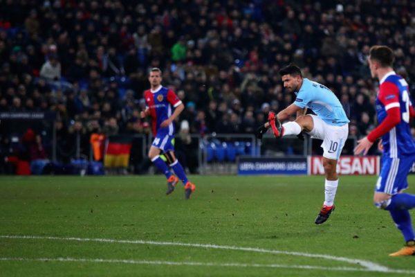 Champions League Manchester City-Basel 07/03/2018