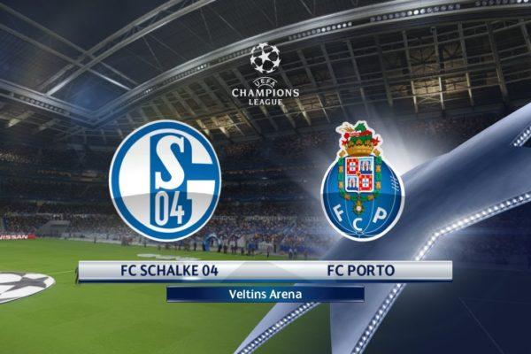 Champions League Schalke vs Porto 18/09/2018