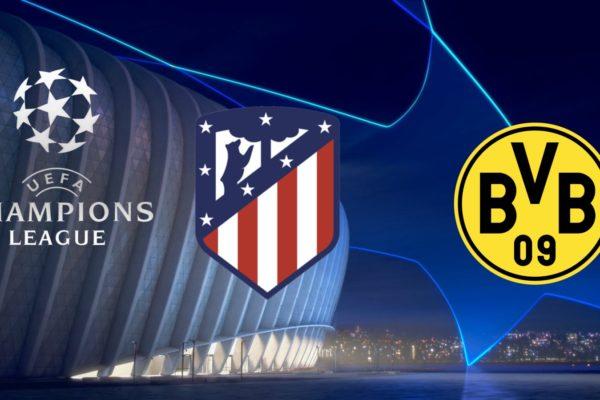 Atletico Madrid vs Borussia Dortmund Champions League 6/11/2018