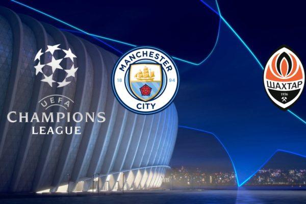 Manchester City vs Shakhtar Donetsk Champions League 7/11/2018